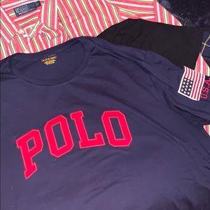 Polo ralph lauren USA spellout